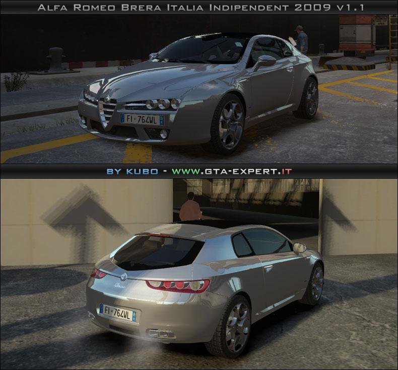 alfa romeo brera italia independent 2009 v1 1 alfa romeo auto gta 4 gta area. Black Bedroom Furniture Sets. Home Design Ideas