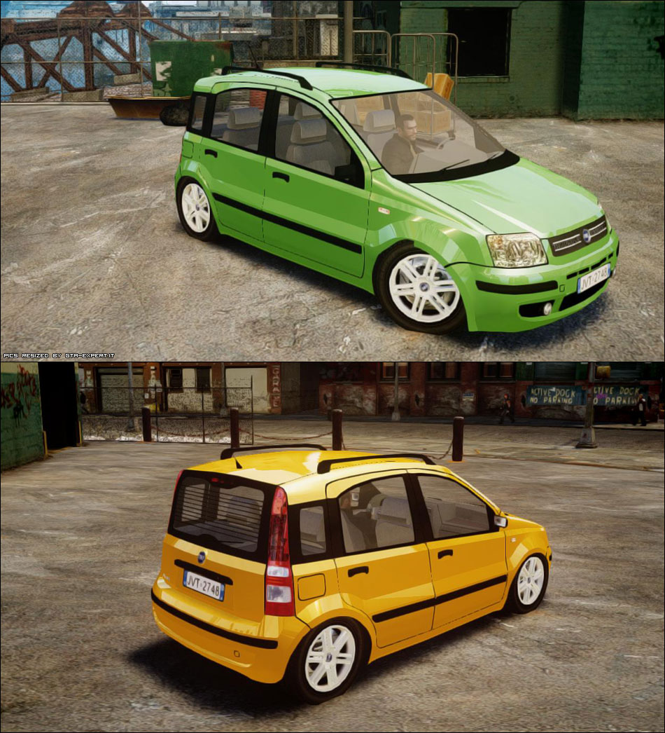 fiat panda 2004 fiat auto gta 4 gta area. Black Bedroom Furniture Sets. Home Design Ideas