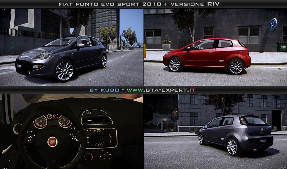 Fiat Punto Evo Sport 2010   Riv  U00bb Fiat  U00bb Auto  U00bb Gta 4