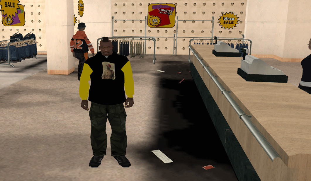 Felpa Tupac » GTA San Andreas » Skin & Vestiti » GTA-Expert it Area