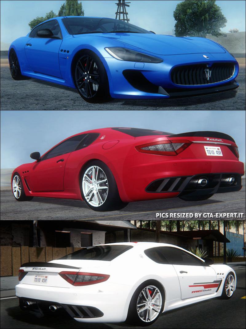 Maserati Granturismo Mc Stradale Maserati Auto Gta