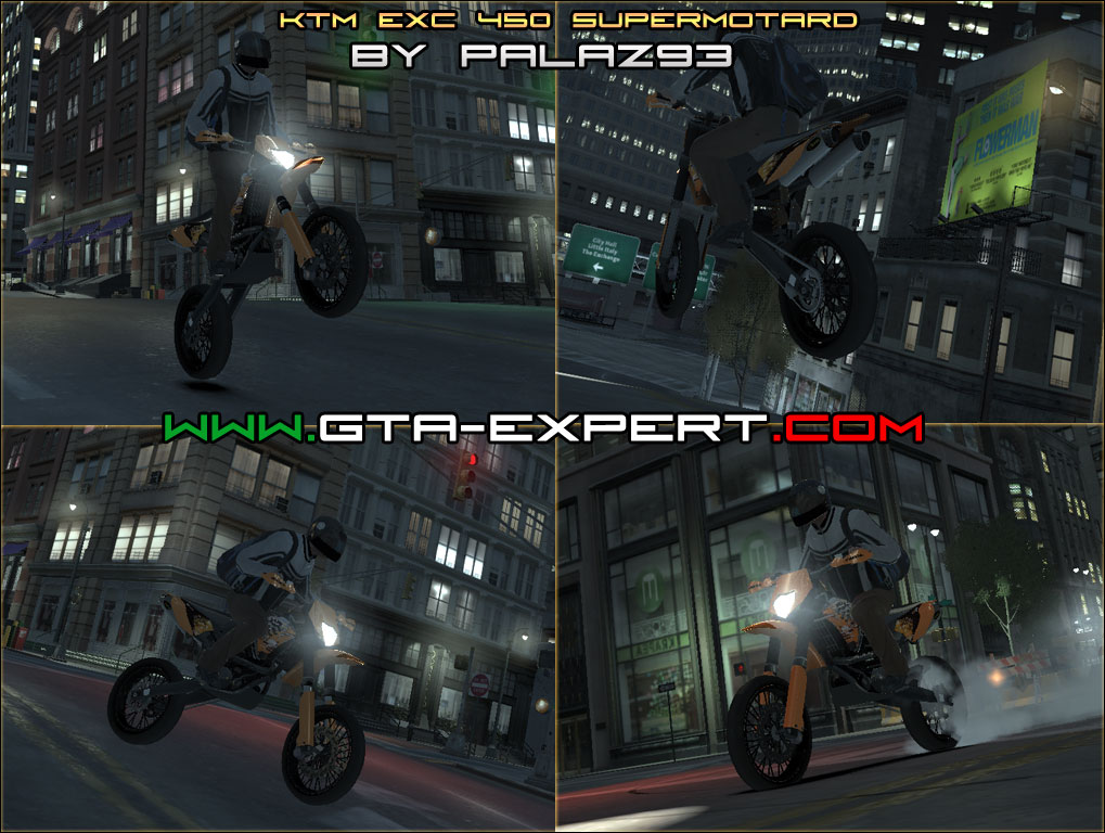 Grand Wagoneer 2018 >> KTM EXC 450 SuperMotard » GTA 4 » Moto e Scooter » GTA ...