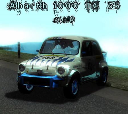 Fiat Abarth 1000tc 65 187 Fiat 187 Auto 187 Gta San Andreas