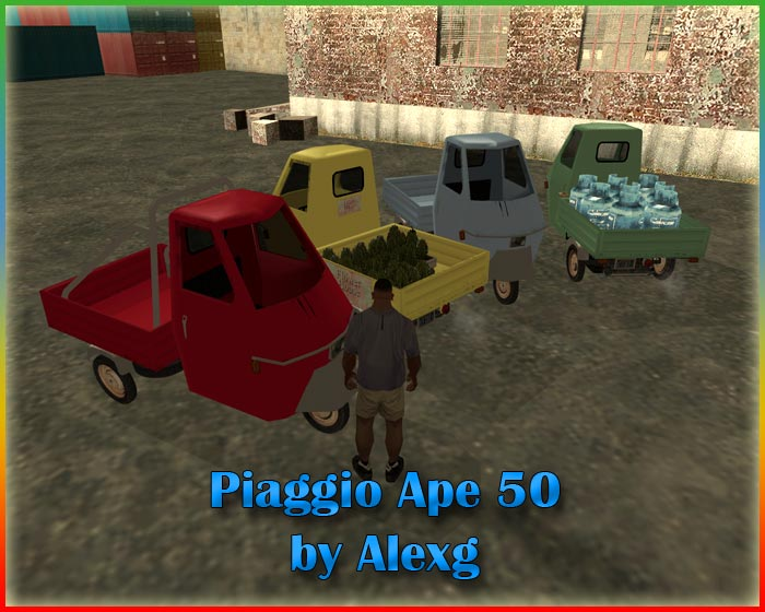 5 Star Auto >> Piaggio Ape 50 » Altre » Auto » GTA San Andreas » GTA-Expert.it Area Download