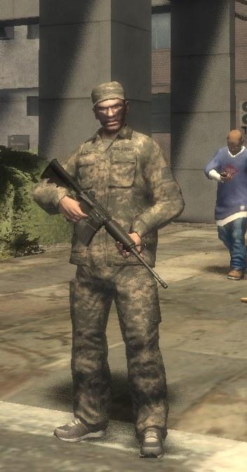 Uniforme Militare Americana GTA 4 Vestiti Amp Accessori