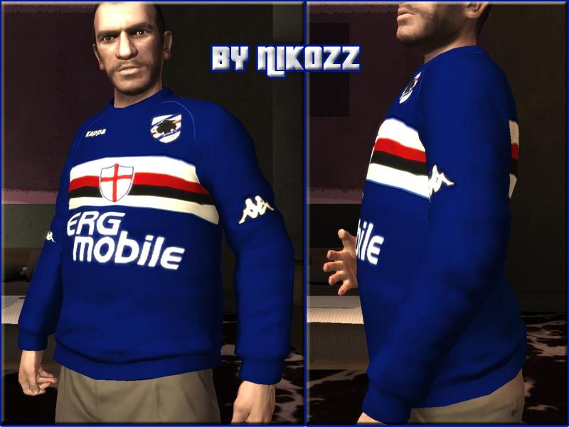 Maglia Sampdoria 2009-2010 » GTA 4 » Vestiti & accessori ...