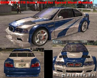 BMW M3 GTR - Need for Speed Most Wanted » BMW » Auto » GTA ...