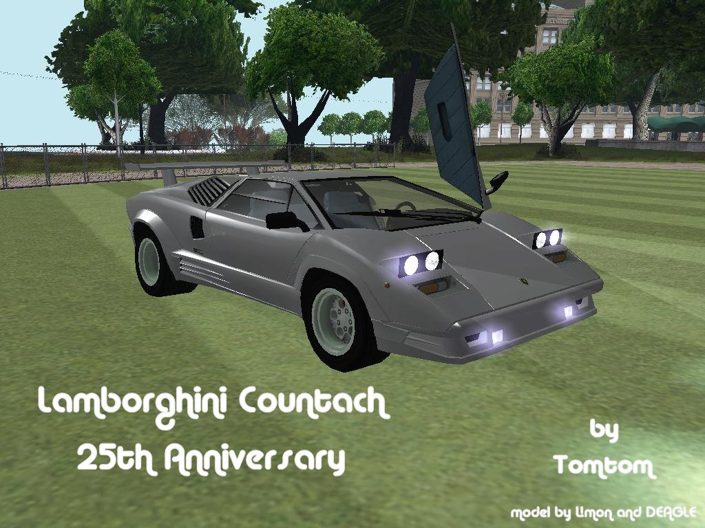 lamborghini countach 25th anniversary lamborghini auto gta san andreas gta. Black Bedroom Furniture Sets. Home Design Ideas