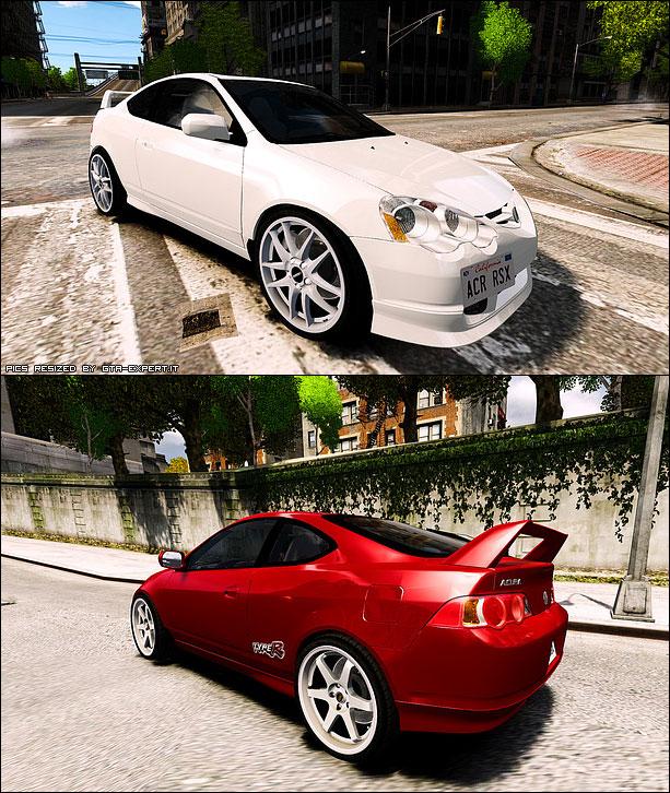 Acura RSX Type S » Acura » Auto » GTA 4 » GTA-Expert.it