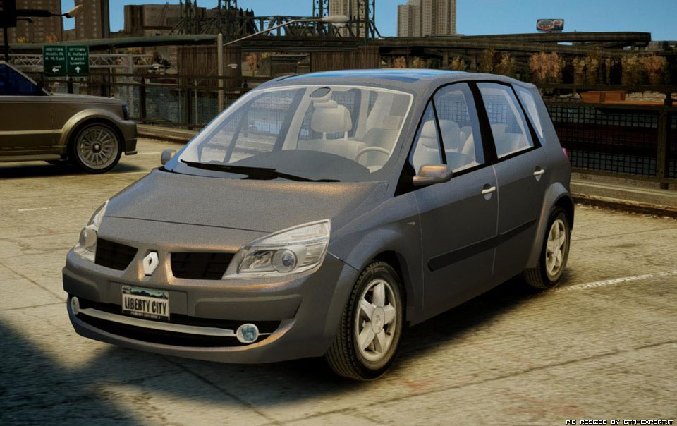 renault scenic ii phase 2 renault auto gta 4 gta area download. Black Bedroom Furniture Sets. Home Design Ideas