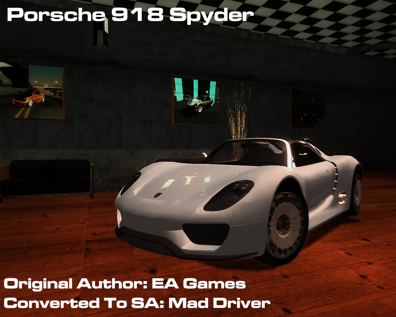 porsche 918 spyder porsche auto gta san andreas gta area download. Black Bedroom Furniture Sets. Home Design Ideas
